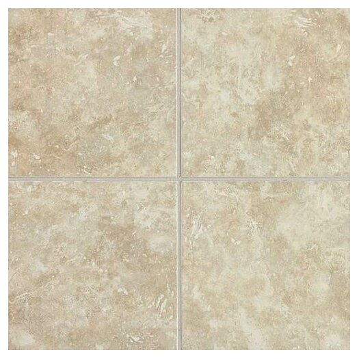 "Daltile Heathland 6"" x 6"" Unpolished Wall Tile in White Rock"