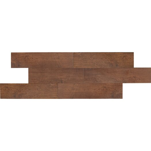 "Daltile Terrace 6"" x 36"" Unpolished Field Tile in Cherry"