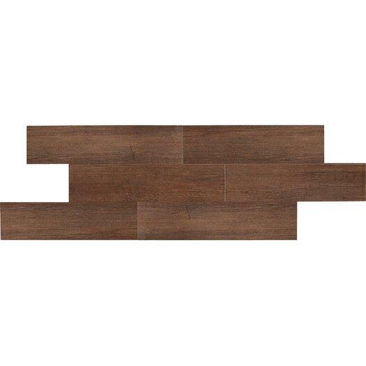 "Daltile Terrace 6"" x 36"" Unpolished Field Tile in Espresso"