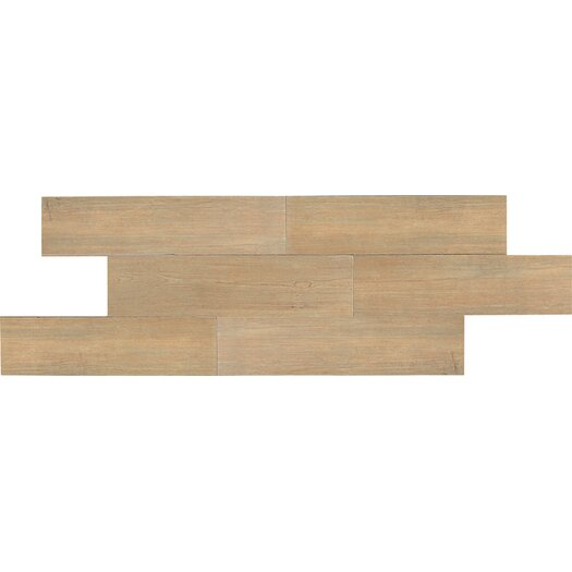 "Daltile Terrace 6"" x 36"" Unpolished Field Tile in Hickory"