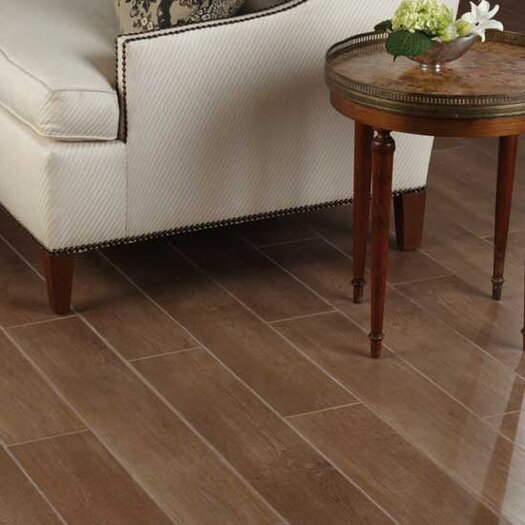 Daltile Terrace Porcelain Unpolished Field Tile in Walnut