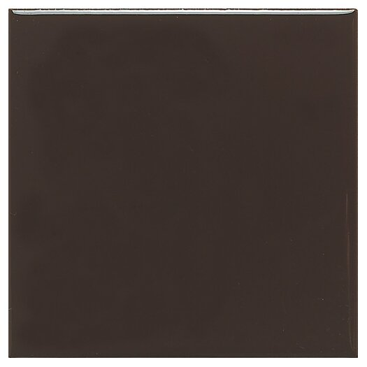 "Daltile Modern Dimensions 4"" x 2"" Straight-Joint Plain Ceramic Mosaic in Cityline Kohl"