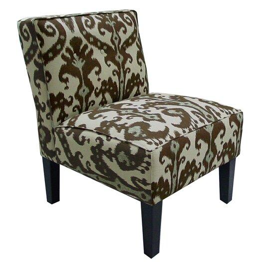 Skyline Furniture Button Cotton Slipper Chair