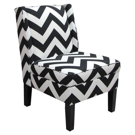 Skyline Furniture Wingback Slipper Chair