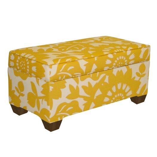 Skyline Furniture Lawson Storage Ottoman
