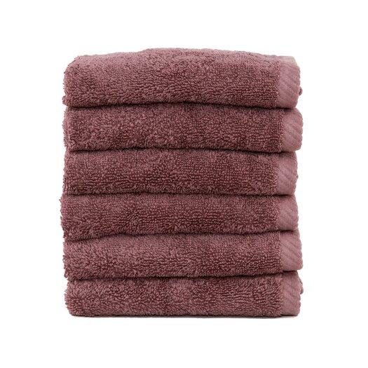Linum Home Textiles Soft Twist 100% Turkish Cotton Wash Cloth (Set of 6)