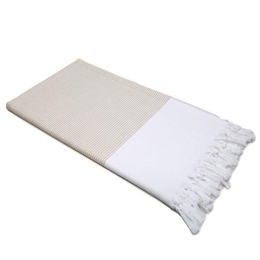 Linum Home Textiles Stripy 100% Turkish Cotton Pestemal/Fouta Bath Towel