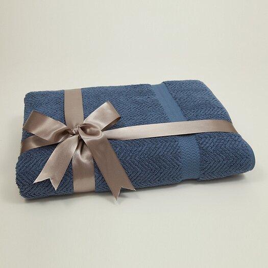 Linum Home Textiles Herringbone Weave 100% Turkish Cotton Bath Sheet