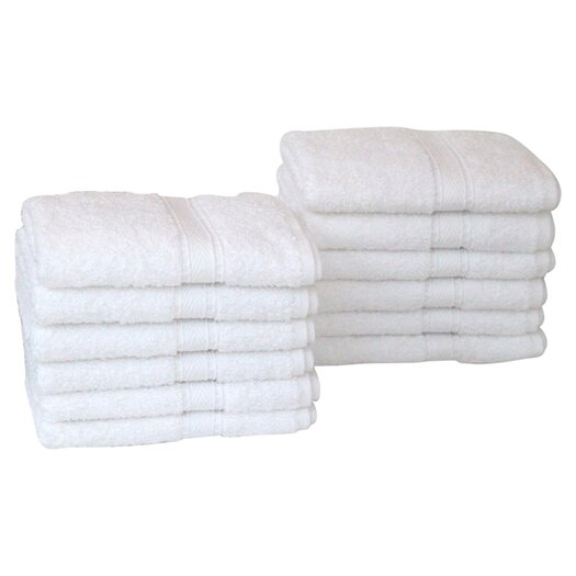 Linum Home Textiles Luxury Hotel & Spa 100% Turkish Cotton Wash Cloth
