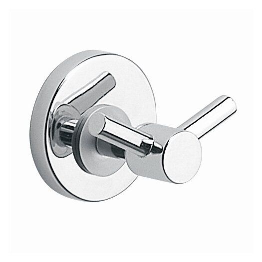 Moda Collection Silver Wall Mounted Robe Hook