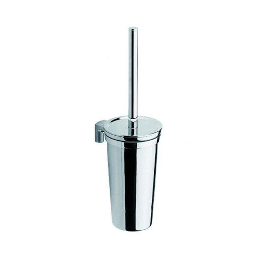 Moda Collection Movin Wall Toilet Brush Holder in Chrome