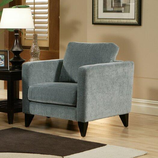 Omnia Furniture Bradford Leather Armchair