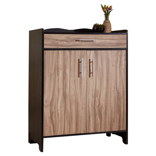 Hokku Designs Madie Modern 4 Shelf Shoe Cabinet
