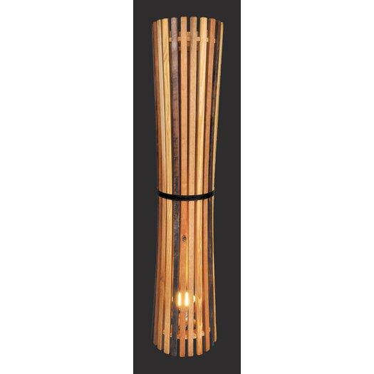 Shiner International Flute 1 Light Lamp Stand