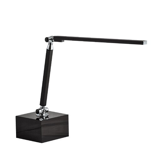 "Lamp Works Long Neck LED 14"" H Table Lamp"