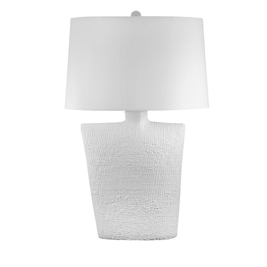 """Lamp Works 32"""" H Table Lamp with Drum Shade"""