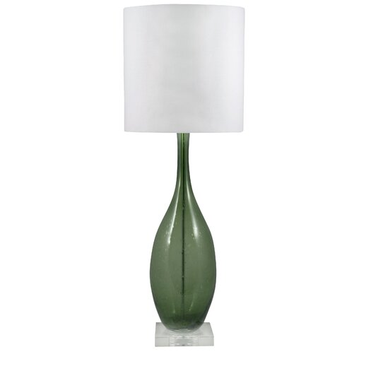 """Lamp Works 30"""" H Table Lamp with Drum Shade"""