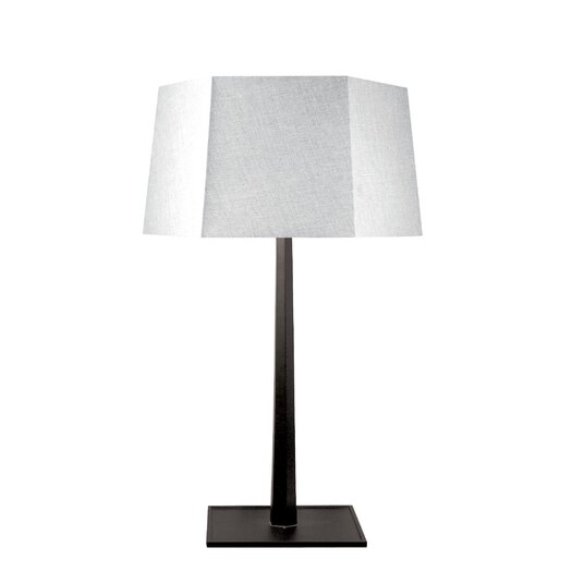"Lamp Works 32"" H Table Lamp with Drum Shade"