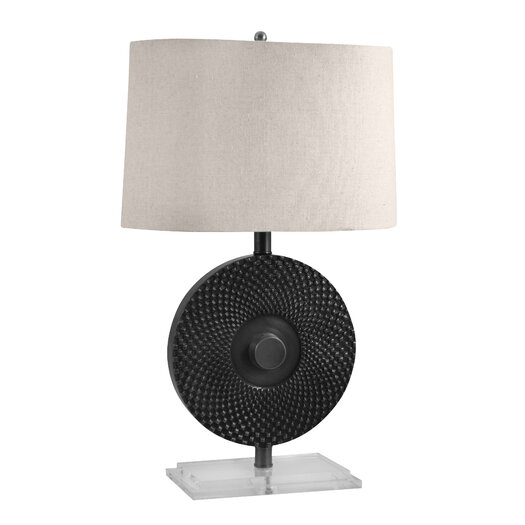 "Lamp Works 26"" H Table Lamp with Drum Shade"