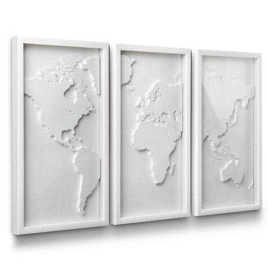 Umbra 3 Piece Mapster Wall Décor Set