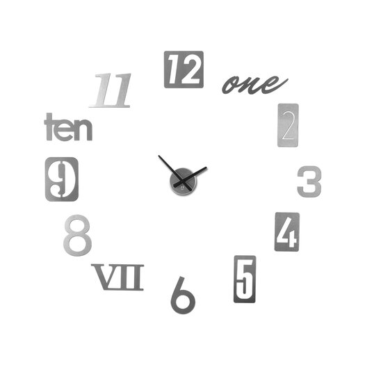 "Umbra Numbra 11"" Wall Clock"
