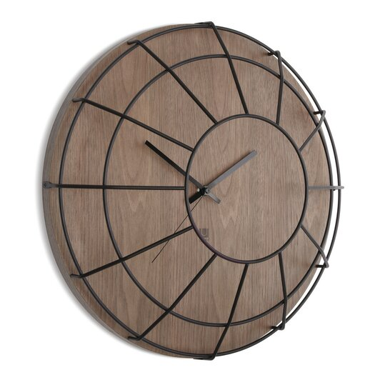 """Umbra Cage 16"""" Wall Clock"""