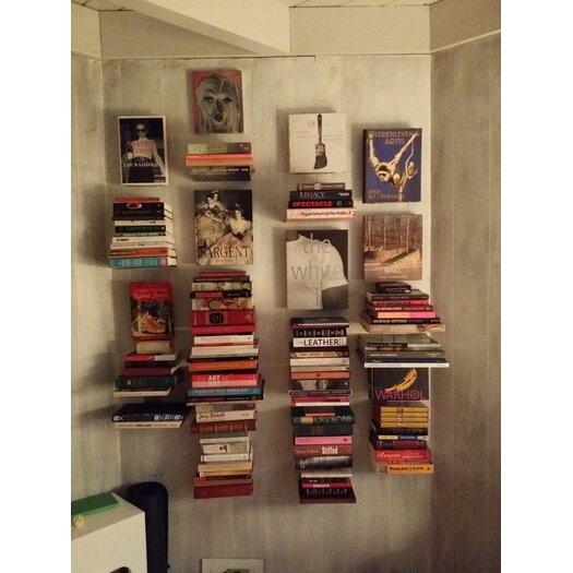 Umbra Conceal Floating Vertical Book Display Shelf
