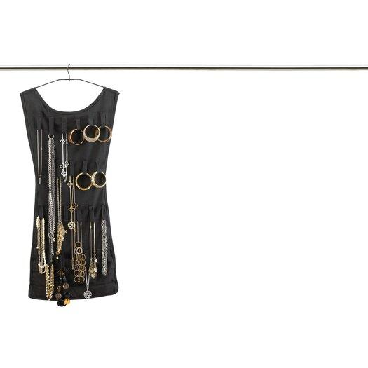 Umbra little black dress hanging jewelry organizer allmodern