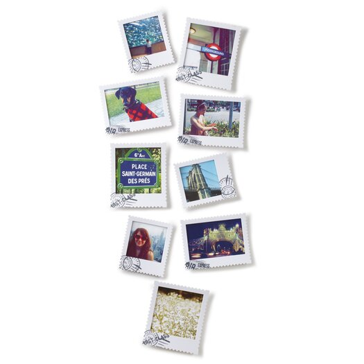 Umbra Postal Wall-Mount Picture Frames