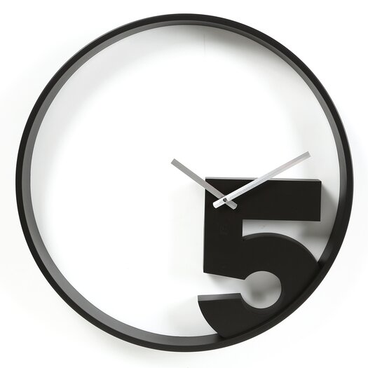 "Umbra 20.5"" Take 5 Wall Clock"