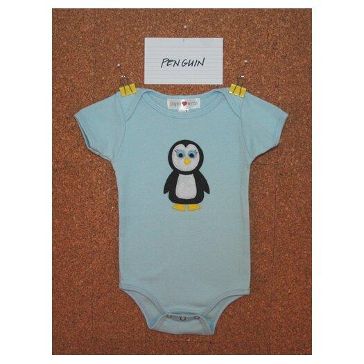 Jasper Hearts Wren Penguin Bodysuit or Tee