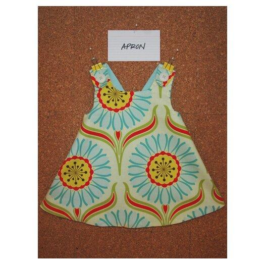 Jasper Hearts Wren Apron Dress in Pop Daisy
