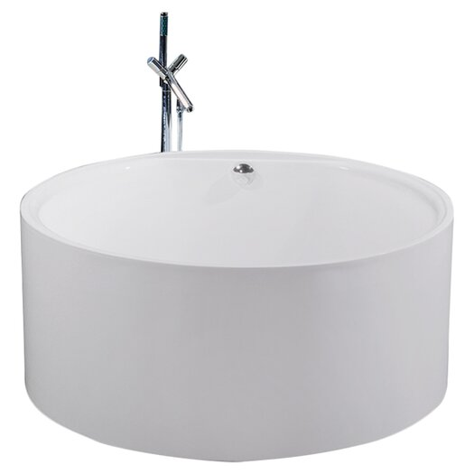 "Aquatica PureScape 54"" x 54"" Freestanding Acrylic Bathtub"