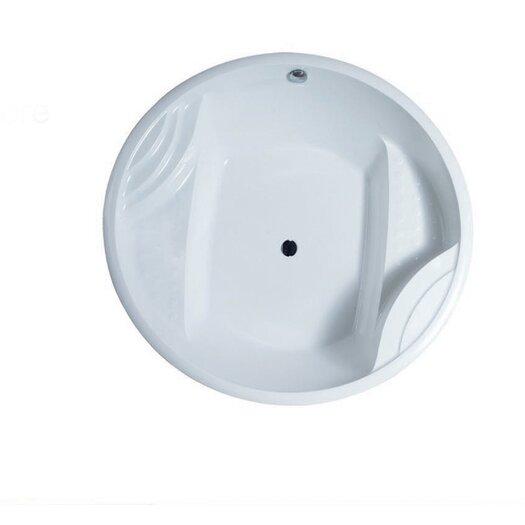 "Aquatica PureScape Acrylic 63"" x 63"" Freestanding Bathtub"