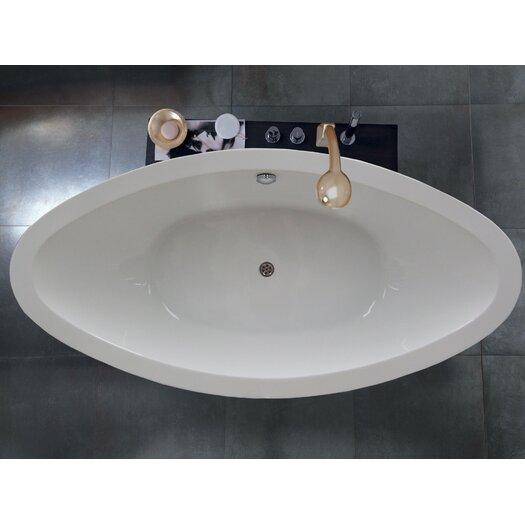 "Aquatica PureScape 75"" x 38"" Freestanding Acrylic Slipper Tub"