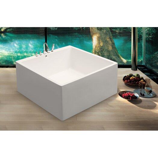 "Aquatica PureScape Acrylic 52"" x 52"" Freestanding Bathtub"