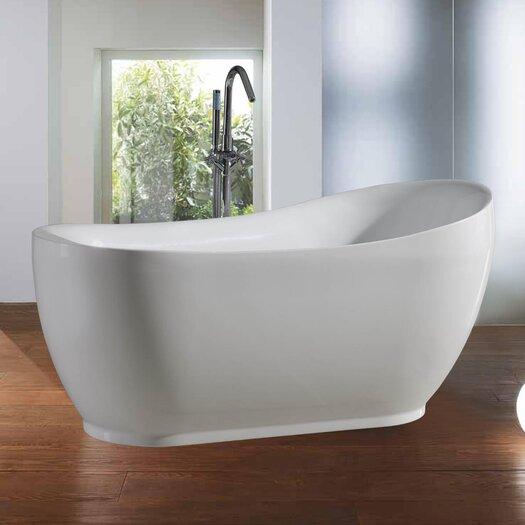 "Aquatica PureScape 71"" x 36"" Freestanding Acrylic Bathtub"