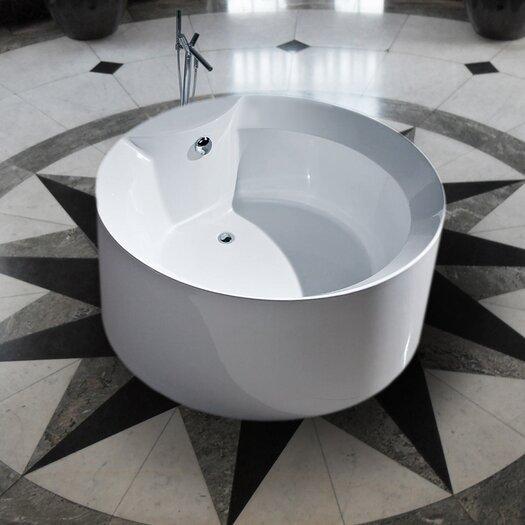 "Aquatica PureScape 53"" x 53"" Freestanding Acrylic Bathtub"