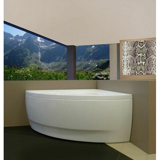 """Aquatica Olivia 55"""" x 55"""" Bathtub"""
