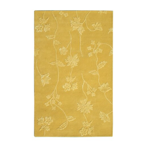 Noble House Florence Light Gold Area Rug