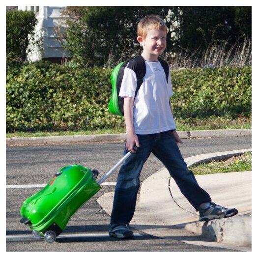 TrendyKid 2 Piece Archie Alien Children's Luggage Set