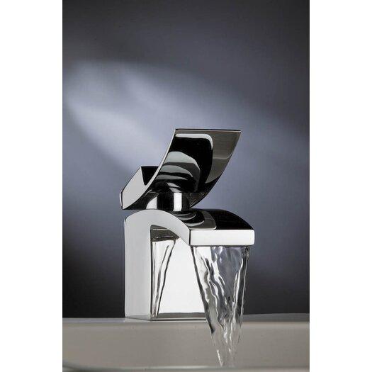 Artos Quarto Single Hole Waterfall Bathroom Faucet with Single Handle