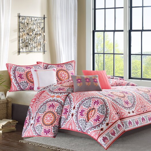Madison Park Lynly 7 Piece Comforter Set