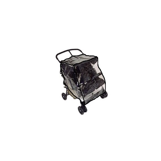 Sasha's Kiddie Products Twin Side-by-Side Stroller Rain and Wind Cover