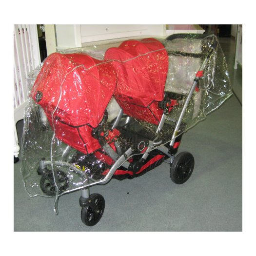 Sasha's Kiddie Products Kolcraft Contours Options/Optima Tandem Stroller Rain and Wind Cover