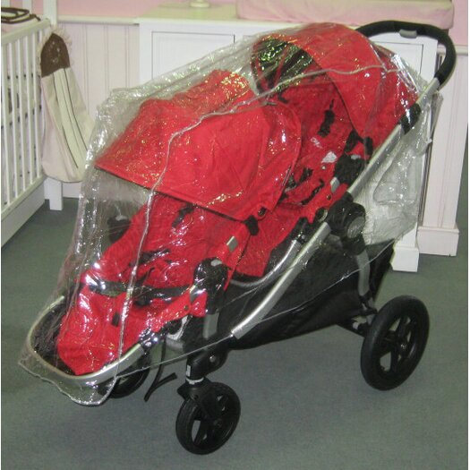 Sasha's Kiddie Products Baby Jogger City Select Double Rain and Wind Cover
