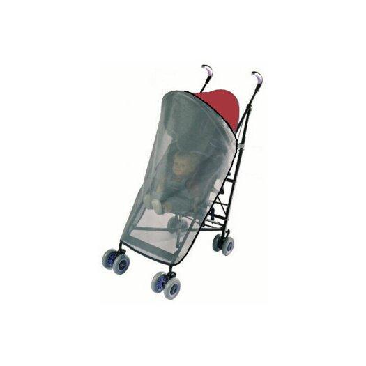 Sasha's Kiddie Products MiaModa Compagno Tandem Stroller Rain and Wind