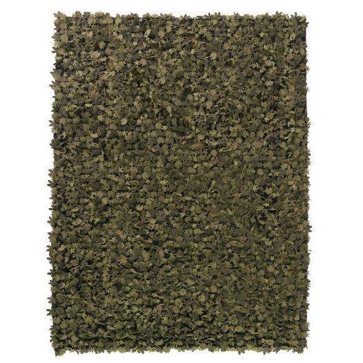 Nanimarquina Little Field Of Flowers Greens Rug