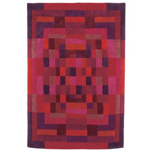 Sybilla Mosaico Red Area Rug