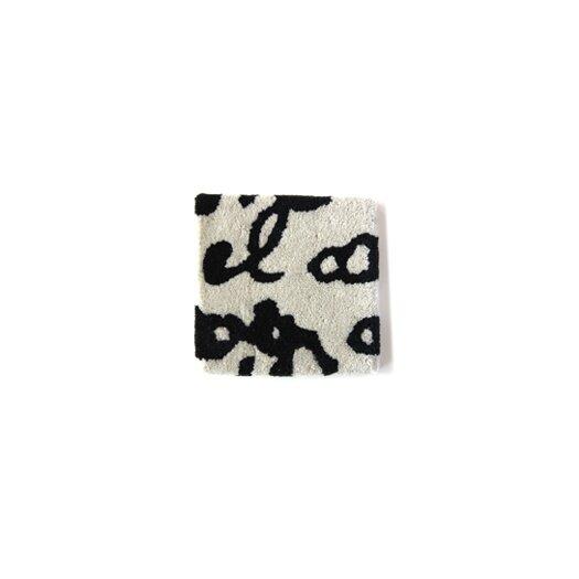 Nanimarquina Black on White Manuscrit Runner